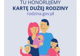 KDR Tu honorujemy Karte Duzej Rodziny