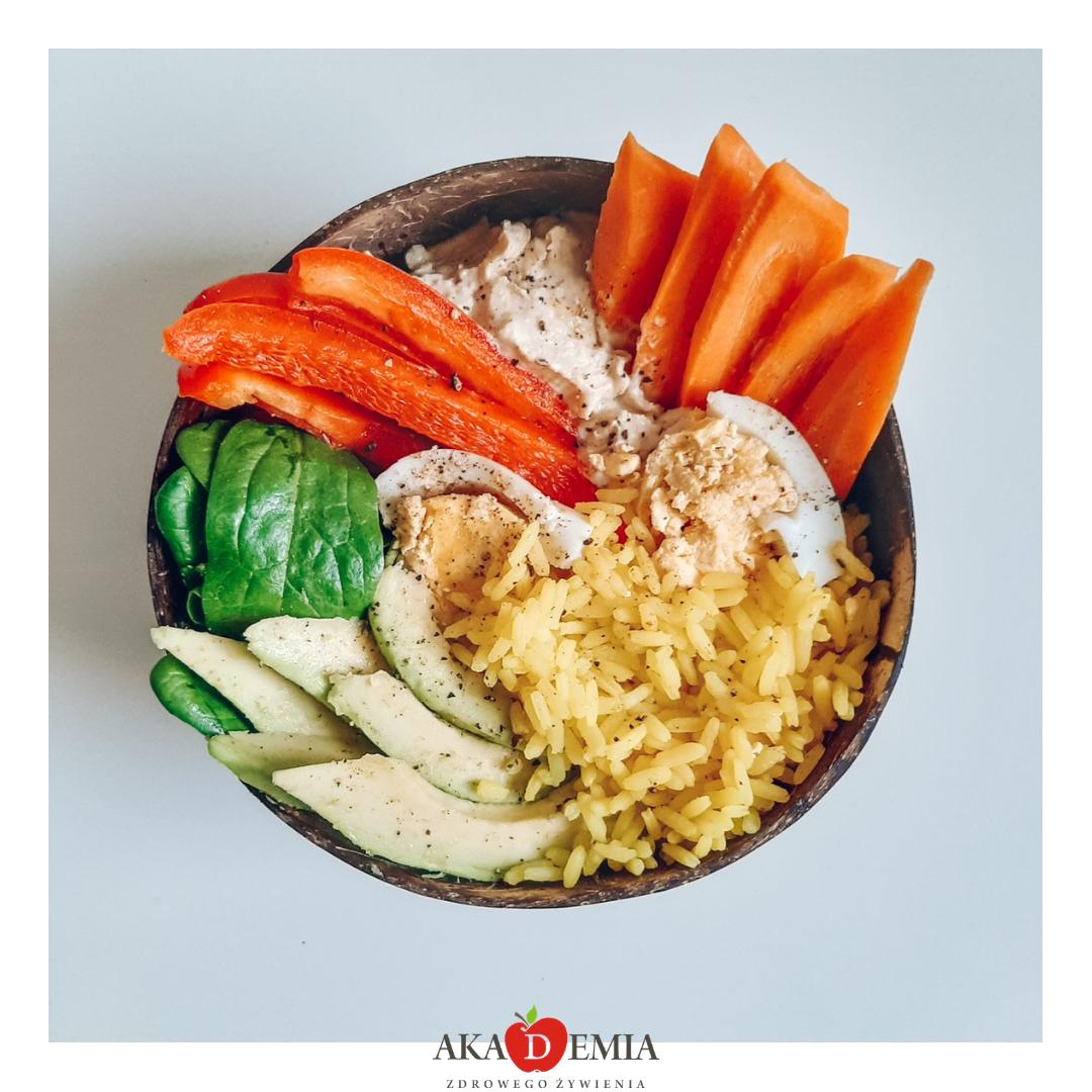 buddha bowl, dieta z niskim IG