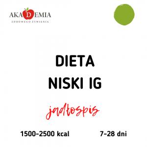 dieta z niskim IG