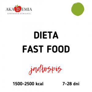 fast food, zdrowy fast food