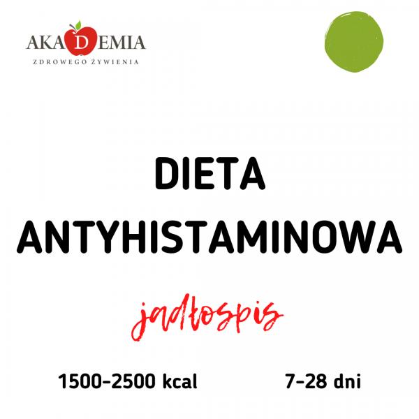 dieta antyhistamnowa